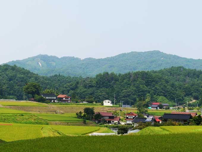 奥出雲町の田園風景